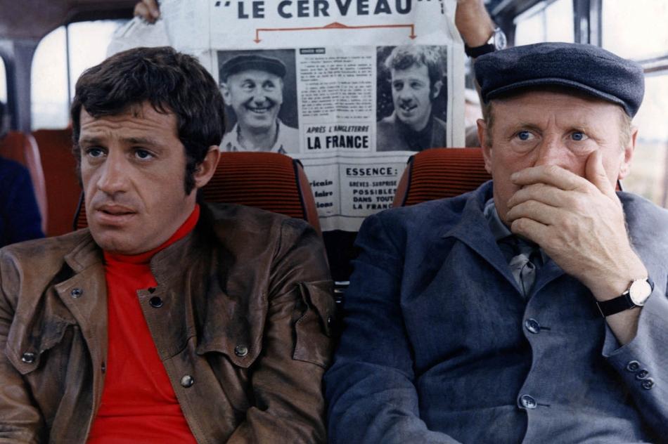 Jean-Paul Belmondo, Bourvil, Le Cerveau, transports, Le Monde, Schnock, Usbek & Rica, Arte, Huffpost, Binge Radio