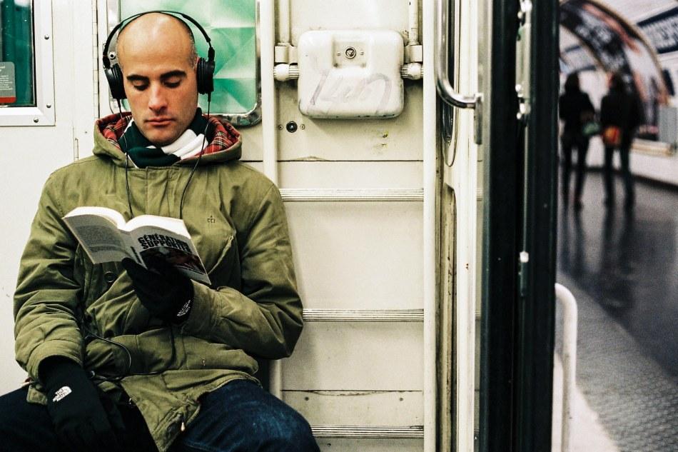 photographe, photo, métro, Parisiens, clichés, expo