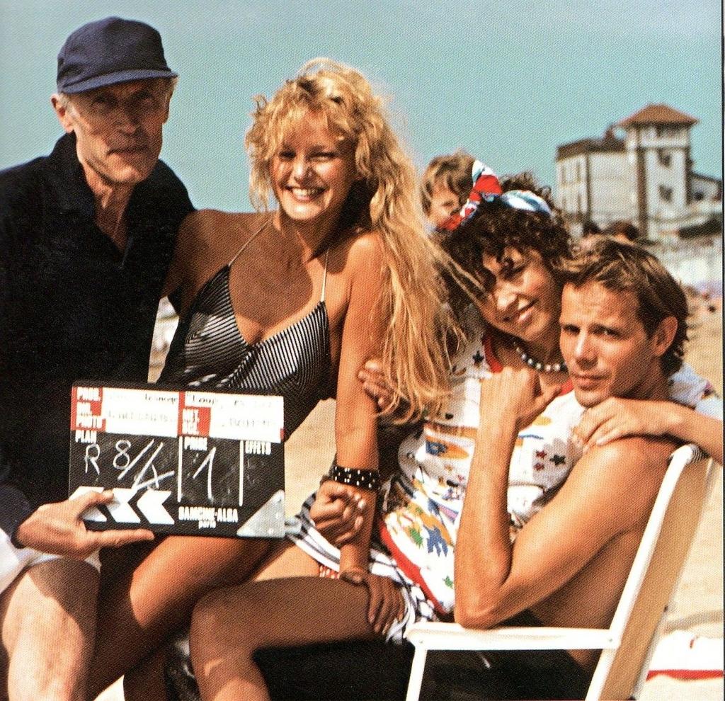 Eric Rohmer, tournage, Pauline à la plage, Arielle Dombasle, Pascal Greggory, Laurent Schérer, blog, cinéma, nouvelle vague, Chacun cherche son film