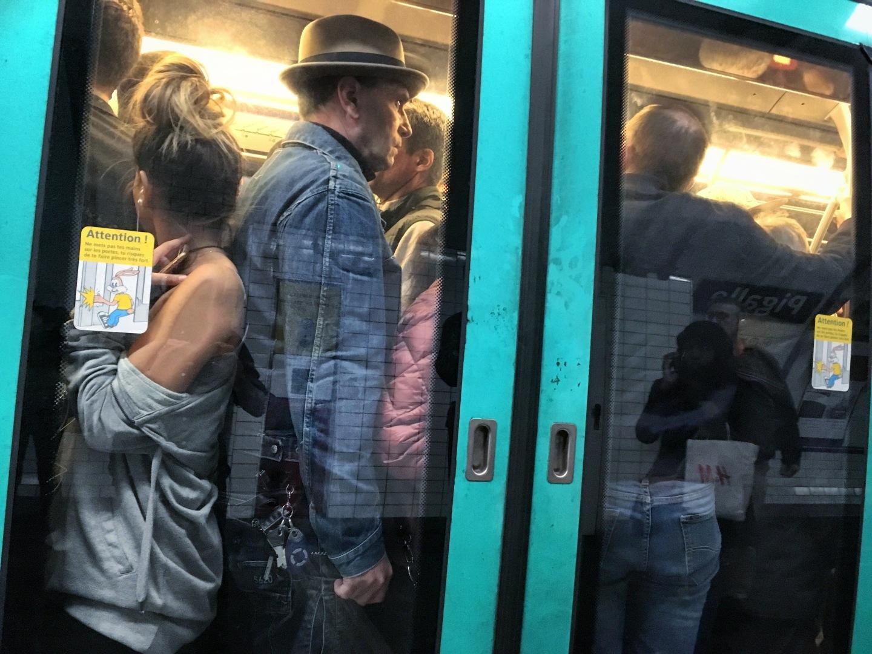 Métro parisien métro paris