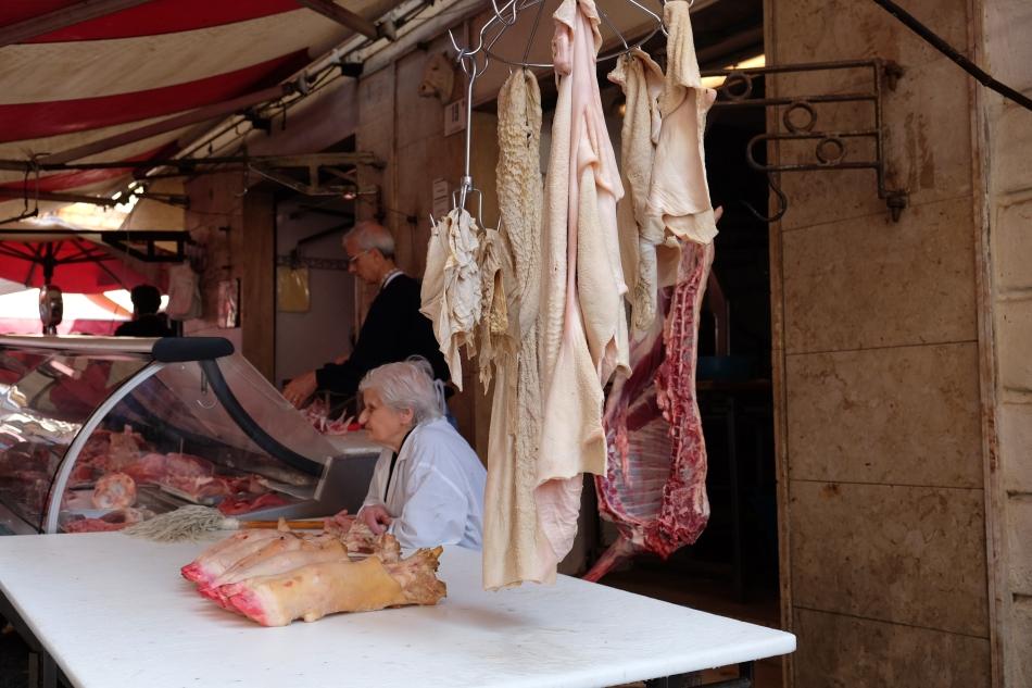 Le marché Catane